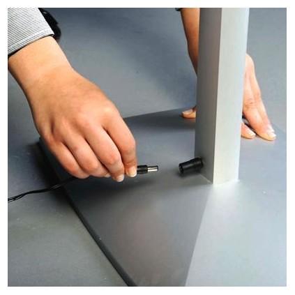 LED Info Skilt, frittstående