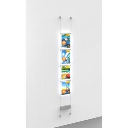 LED lysramme for vegg/vindu – Fly shine