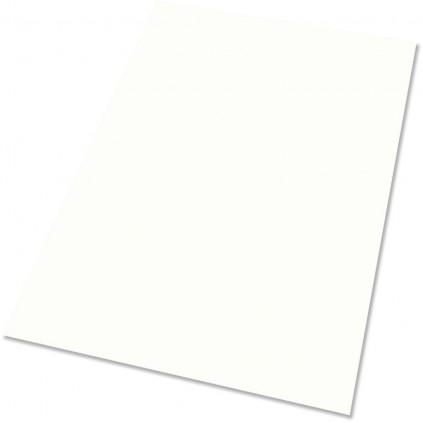 Plakatpapir, hvit