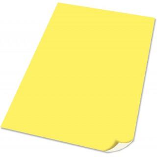 Plakatpapir, gul
