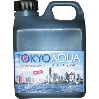 Tokyo Aqua blekk, 1 liter