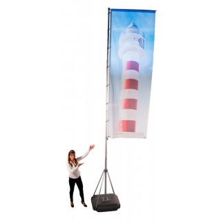 Flaggstativ – Megaflagg