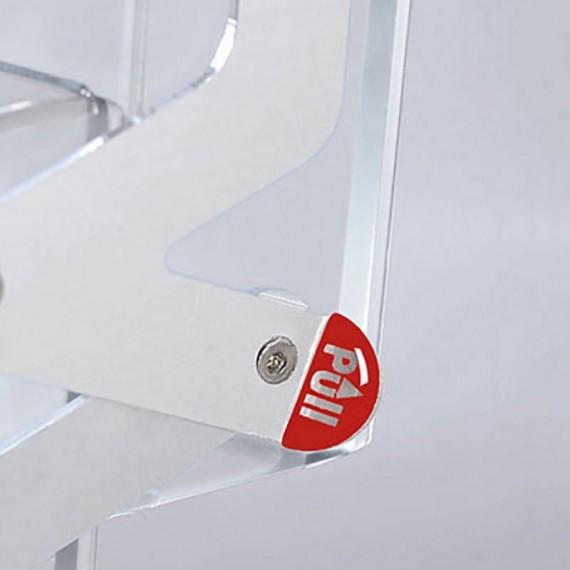 Real zip, 4xA4 polykarbonat