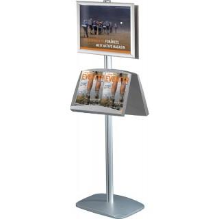 Brosjyrestativ og plakatstativ Mini Multistand