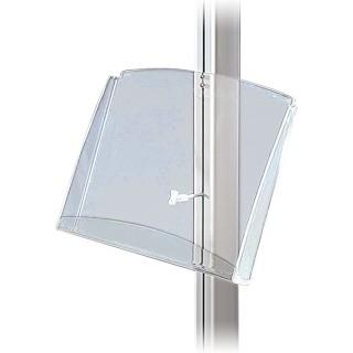 Multistand akryl brosjyrehylle A4 horisontal