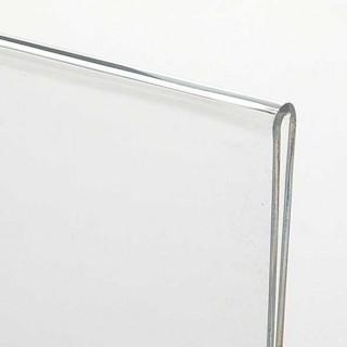 Akryl Menyholder - Skrå bordrytter