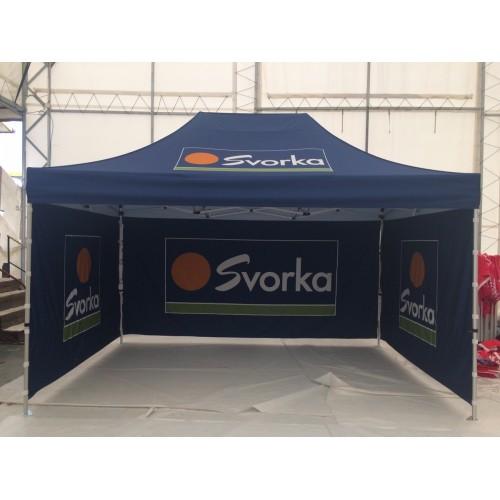 Reklametelt og popup telt